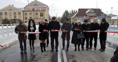 Most na ul.Sienkiewicza już otwarty
