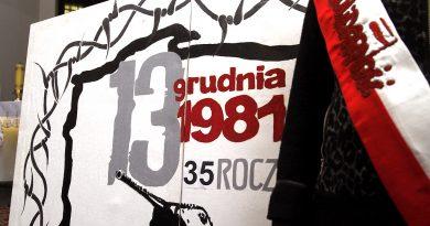 35. rocznica wprowadzenia stanu wojennego -pamiętamy