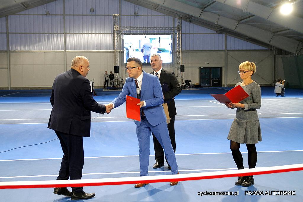 Nowa hala sportowa w Zamościu