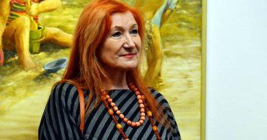 GABRIELA ŁYKO –  wernisaż malarstwa w BWA Galeria Zamojska