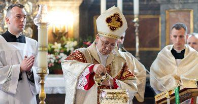 Wielki Czwartek – Msza Krzyżma w Katedrze Zamojskiej