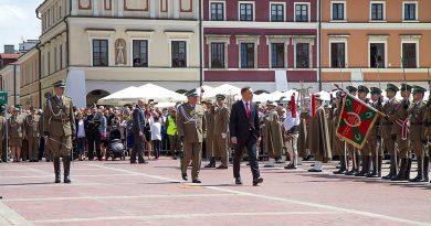 Święto Straży Granicznej z udziałem prezydenta Andrzeja Dudy – wręczenie nominacji