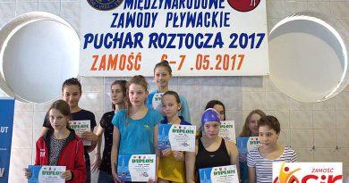 """Międzynarodowe Zawody Pływackie """" XII Puchar Roztocza 2017 r"""""""