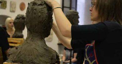 Przegląd z Rysunku, Malarstwa i Rzeźby w Liceum Plastycznym