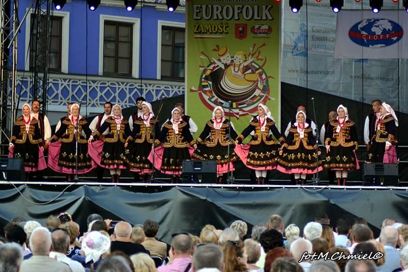 EUROFOLK Zamość 2017- finał Węgry, Puerto Rico, Serbia, ZPiT Zamojszczyzna, Korea