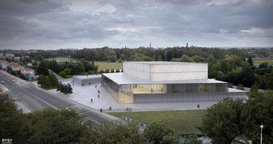 Koncepcja budowy filharmonii w Zamościu