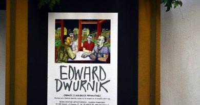 Edward Dwornik  w BWA Galeria Zamojska