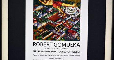 Wernisaż wystawy Roberta Gomułki w BWA