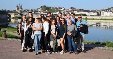 Połączone siły – zamojska młodzież w Blois – Francja