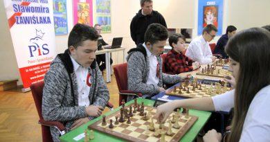 Turniej szachowy w MDK Zamość