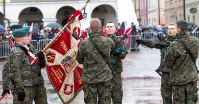 Żołnierze  2. LubelskiejBrygady Obrony Terytorialnej złożyli przysięgę
