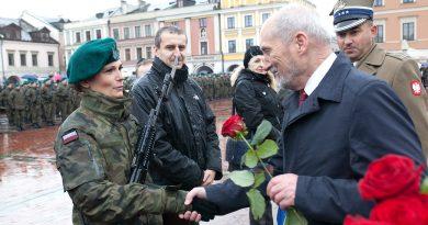 Wyróżnienia Żołnierzy 2. Lubelskiej Brygady Obrony Terytorialnej na przysiędze