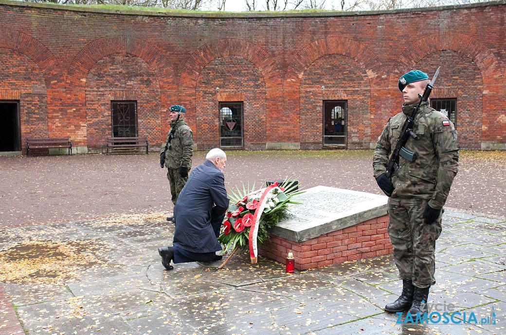 Minister Obrony Narodowej Antoni Macierewicz – odwiedził Rotundę Zamojską
