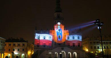Świąteczne iluminacje Ratusza