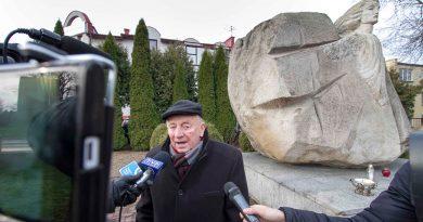 75 Rocznica Wysiedleń na Zamojszczyźnie – uroczystości przy pomniku Ofiar Faszyzmu