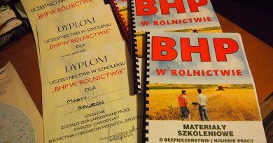 Zasady BHP w rolnictwie