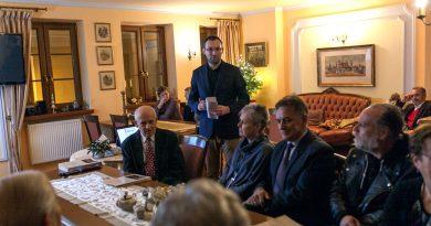 Promocja publikacji wydanych z okazji 10- lecia istnienia Komitetu Odnowy Cmentarza Parafialnego w Zamościu