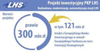 Inwestycje spółki PKP LHS oraz Grupy Azoty