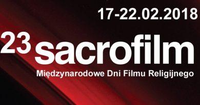23. Międzynarodowe Dni Filmu Religijnego SACROFILM – PROGRAM