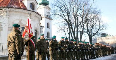 """Narodowy Dzień Pamięci """"Żołnierzy Wyklętych"""" w Zamościu 01.03.2018"""
