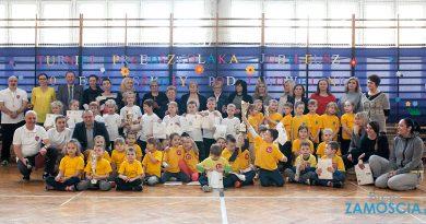 Turniej sportowy dla przedszkolaków  z okazji  JUBILEUSZU 100-LECIA SP nr 3