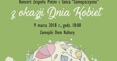 """Koncert ZPiT """"Zamojszczyzna"""" z okazji Dnia Kobiet w ZDK"""
