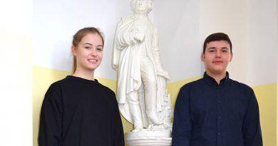Wybitnie uzdolnieni Laureaci z Gimnazjum nr 1 w Zamościu