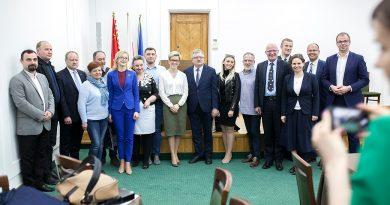 Posłowie sejmowej podkomisji stałej w Zamościu