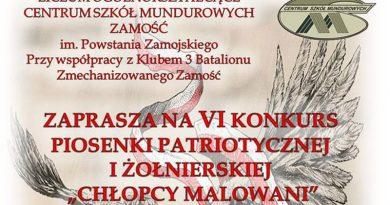 "VI Konkurs ""Chłopcy Malowani"""