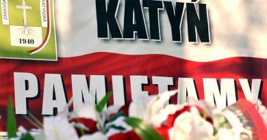 Zamość – 78 rocznica Zbrodni Katyńskiej