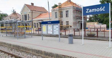 Trwa remont generalny dworca PKP