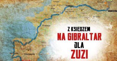 4300 km w 25 dni czyli z księdzem na Gibraltar dla Zuzi