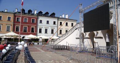 Finał Mundialu w zamojskiej Strefie Kibica i przesunięty koncert Eurofolku