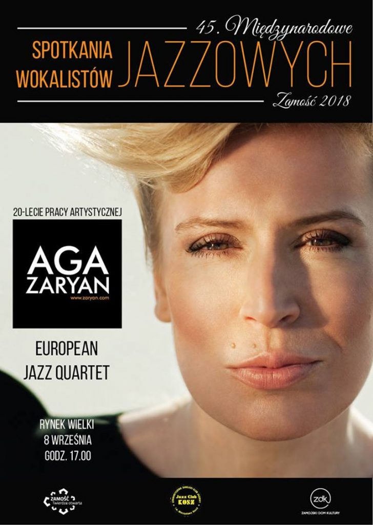 Koncert Agi Zaryan w Zamościu