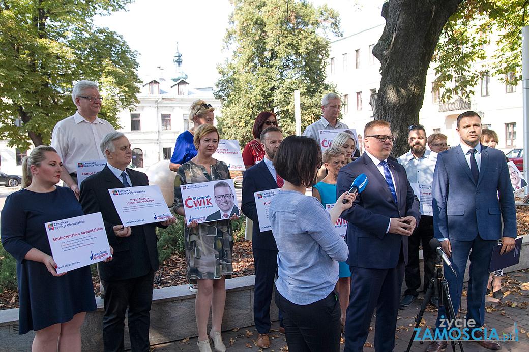 Koalicja przedstawiła radnych i program wyborczy