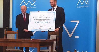 Ponad 3 mln zł dla studentów