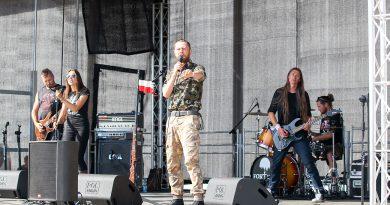 Pieśni partyzanckie i koncert Fortecy w Zamościu