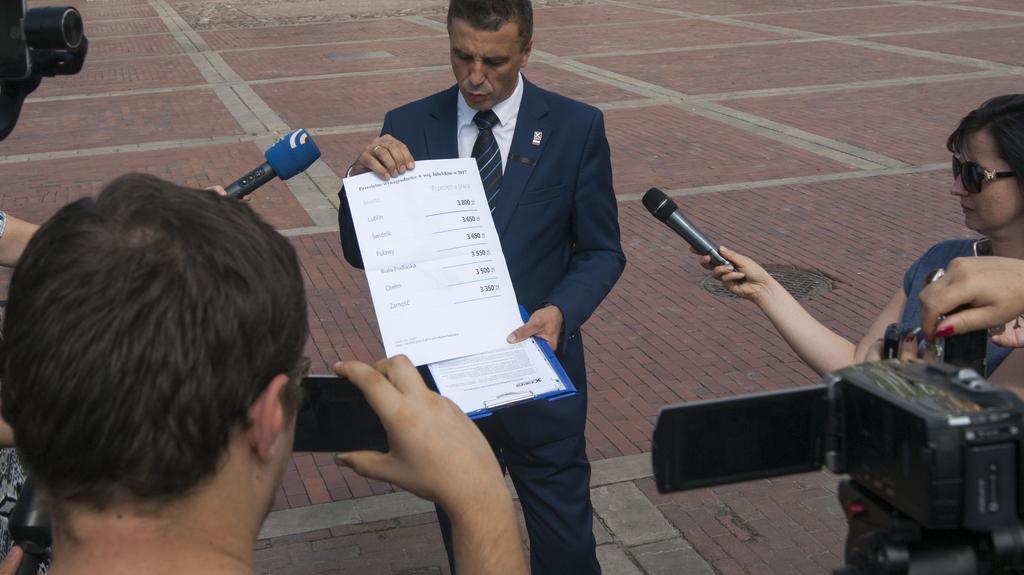 Poseł Jarosław Sachajko już oficjalnie kandydatemna prezydenta Zamościa