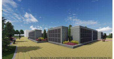 Umowa na budowę kolumbarium podpisana