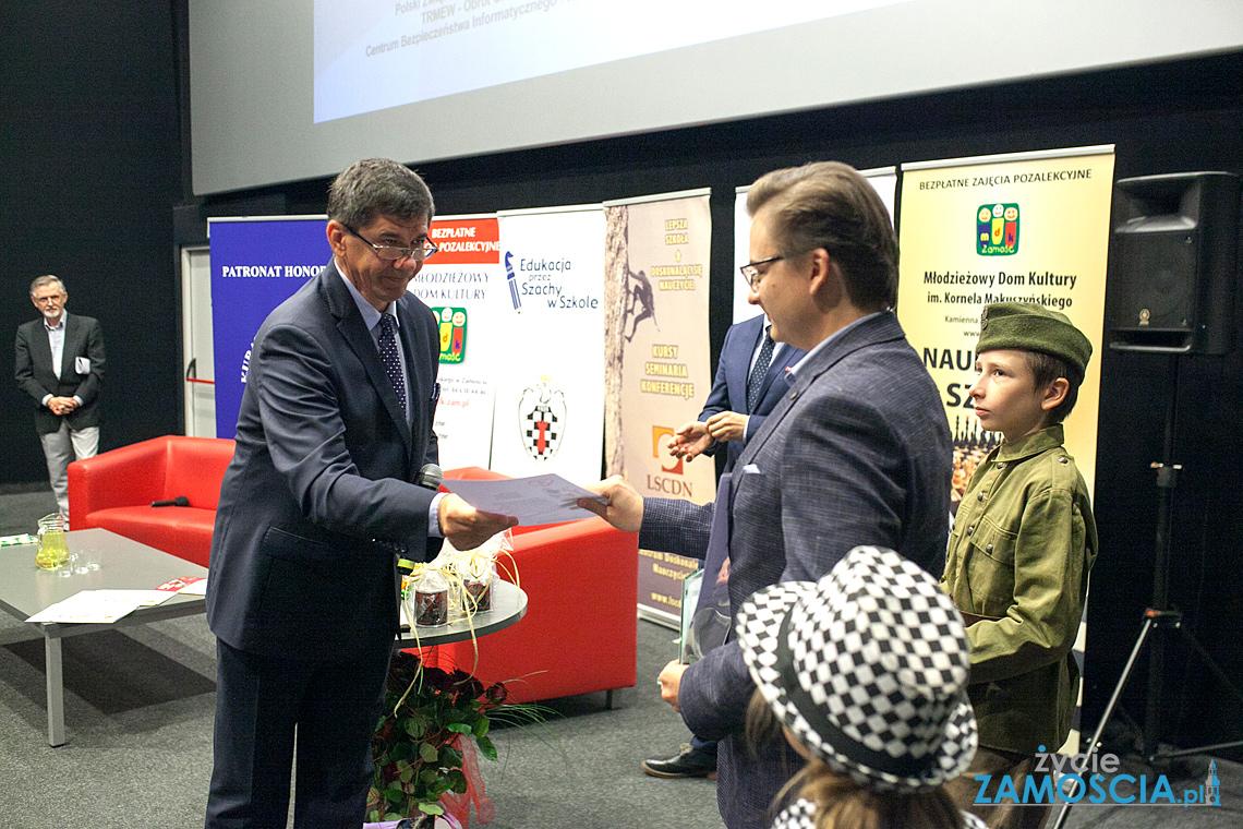 O szachach na konferencji pedagogicznej