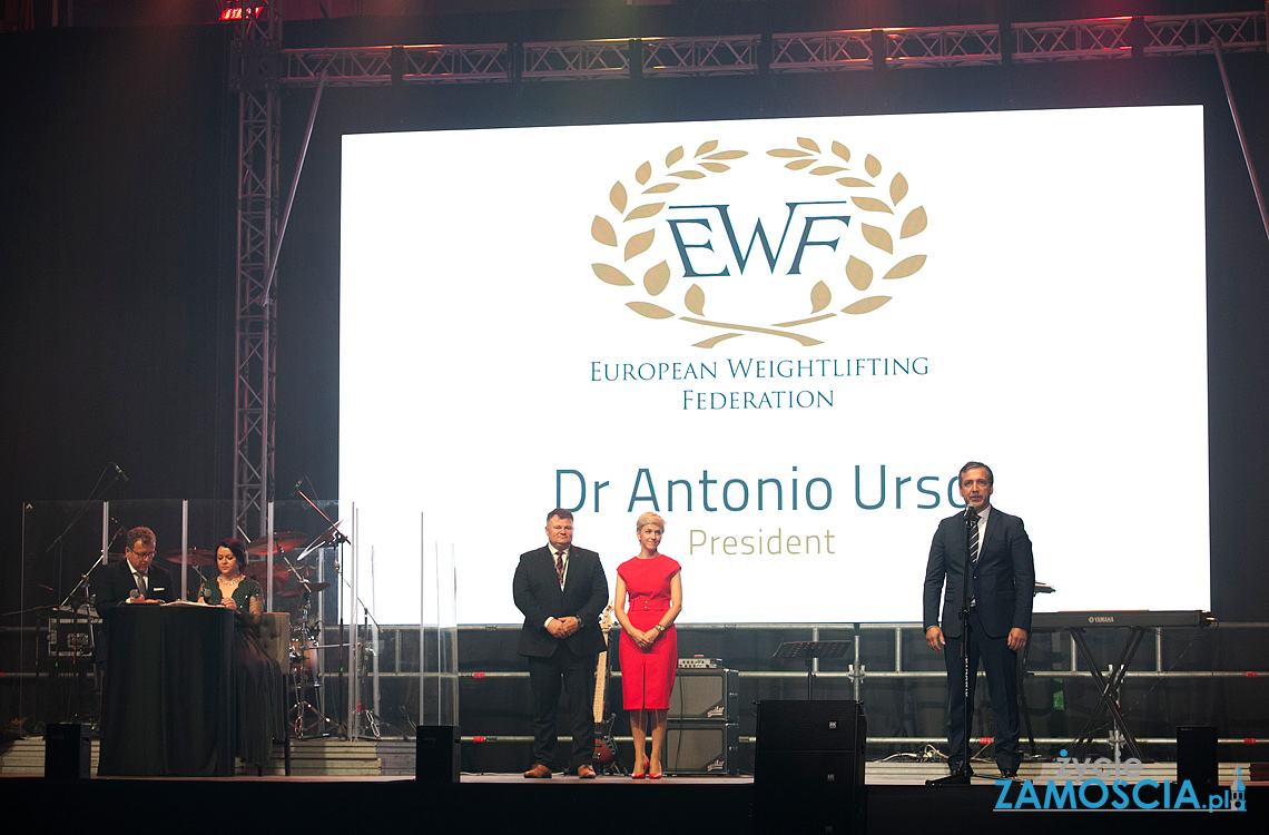 Mistrzostwa Europy w Podnoszeniu Ciężarów oficjalnie otwarte