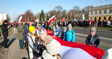 Marsz na stulecie polskiej niepodległości
