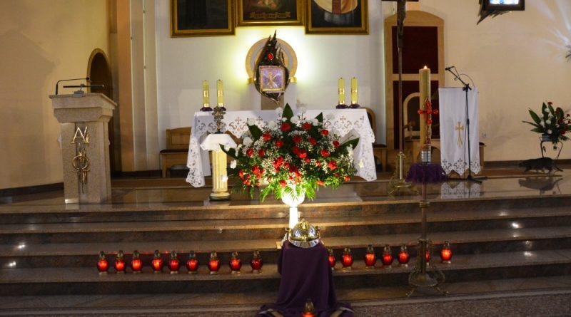Strażackie wypominki w kościele Miłosierdzia Bożego