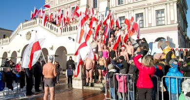 100 morsów na 100-lecie Niepodległości na Rynku Wielkim