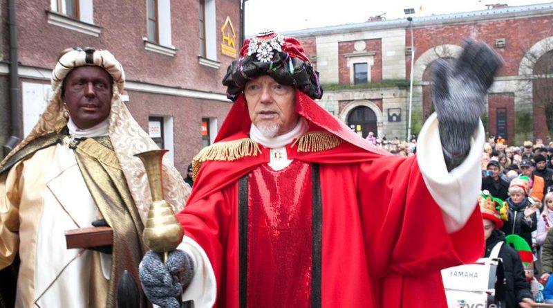 Orszak Trzech Króli w Zamościu: Król Melchior – Marek Rzeźniak