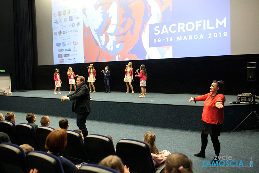 Rekolekcje dla dzieci i Krzysztof Zanussi na Sacrofilmie