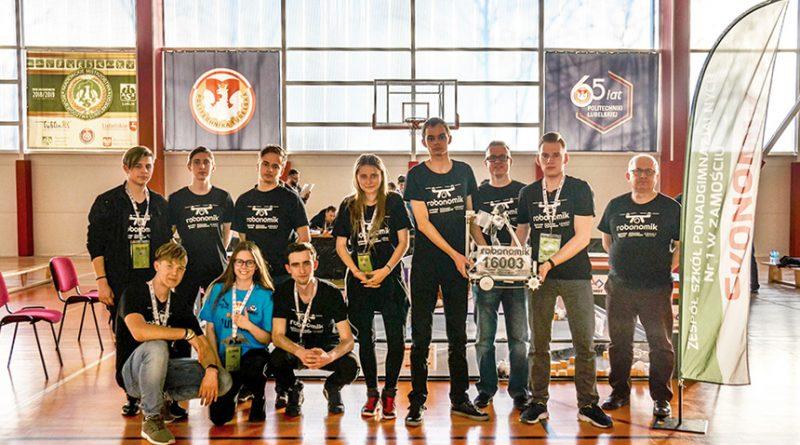 Drużyna Robonomika finalistą zawodów FIRST Tech Challenge Polska