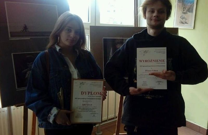 Uczniowie zamojskiego Plastyka z nagrodami