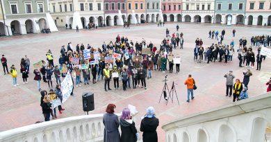 Zamojska młodzież strajkowała dla klimatu