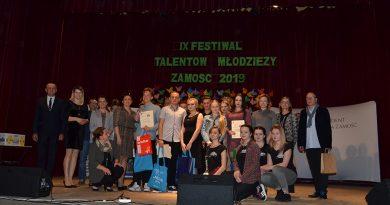 X Festiwal Talentów Młodzieży Zamość 2019